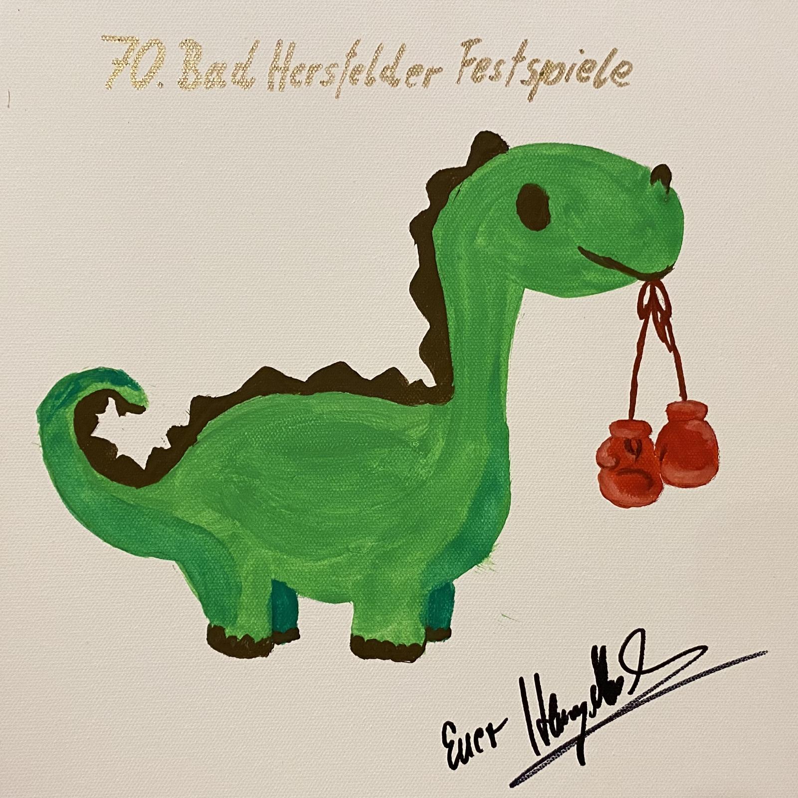 Box-Dino von Henry Maske