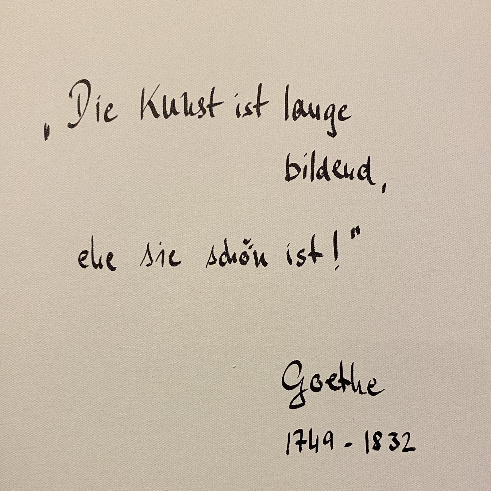 Goethe von Dr. h. c. Petra Roth