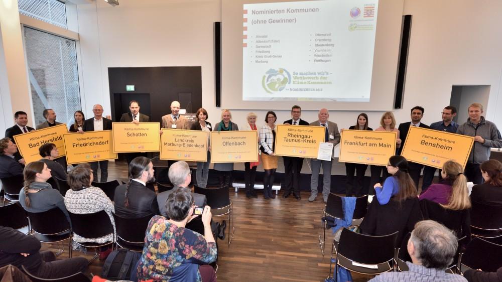 Wetbberb Klima Kommunen Hessen 2017 Preisträger