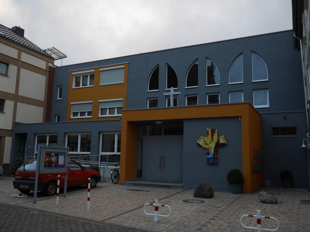 Saniertes Gotteshaus