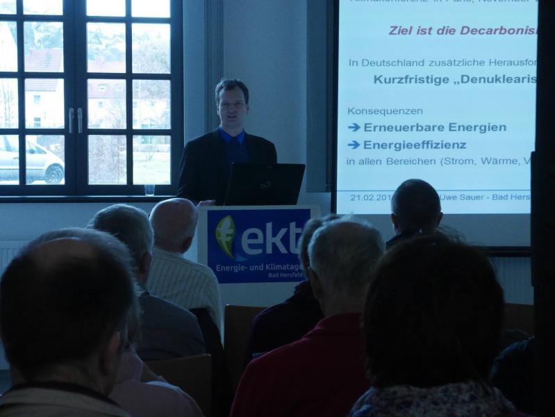 Vortrag Speicherung und Energiewende Prof. Sauer