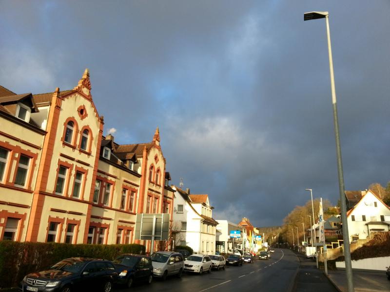 Straßenbeleuchtung LED Homberger Straße