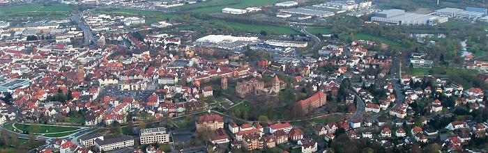Luftaufnahme Bad Hersfeld