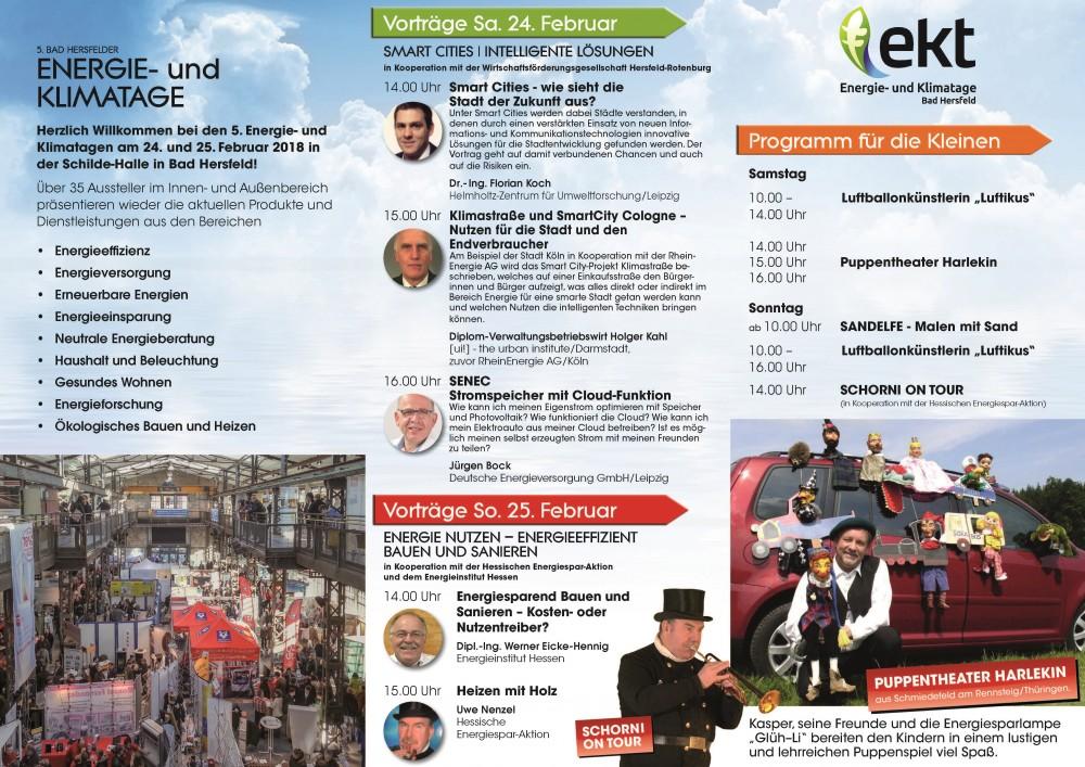 Vorträge und Kinderprogramm EKT 2018