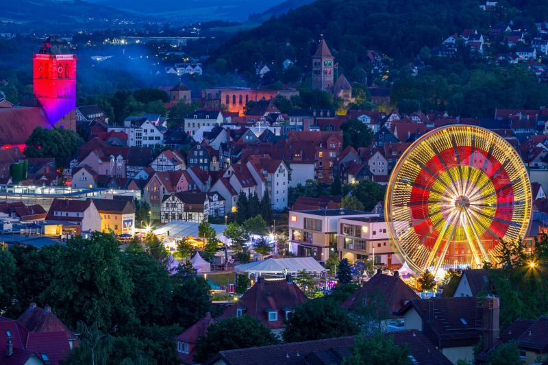 Der Hessentag in Bad Hersfeld ist Vergangenheit. Die Veran-stalter ziehen eine durchweg positive Bilanz. Foto: Fotoscouts Bad Hersfeld