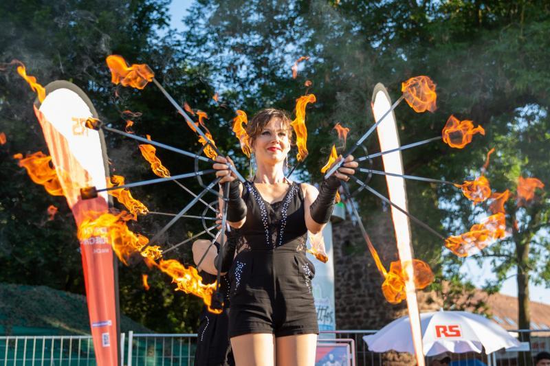 Feuerzauber beim Hessentag