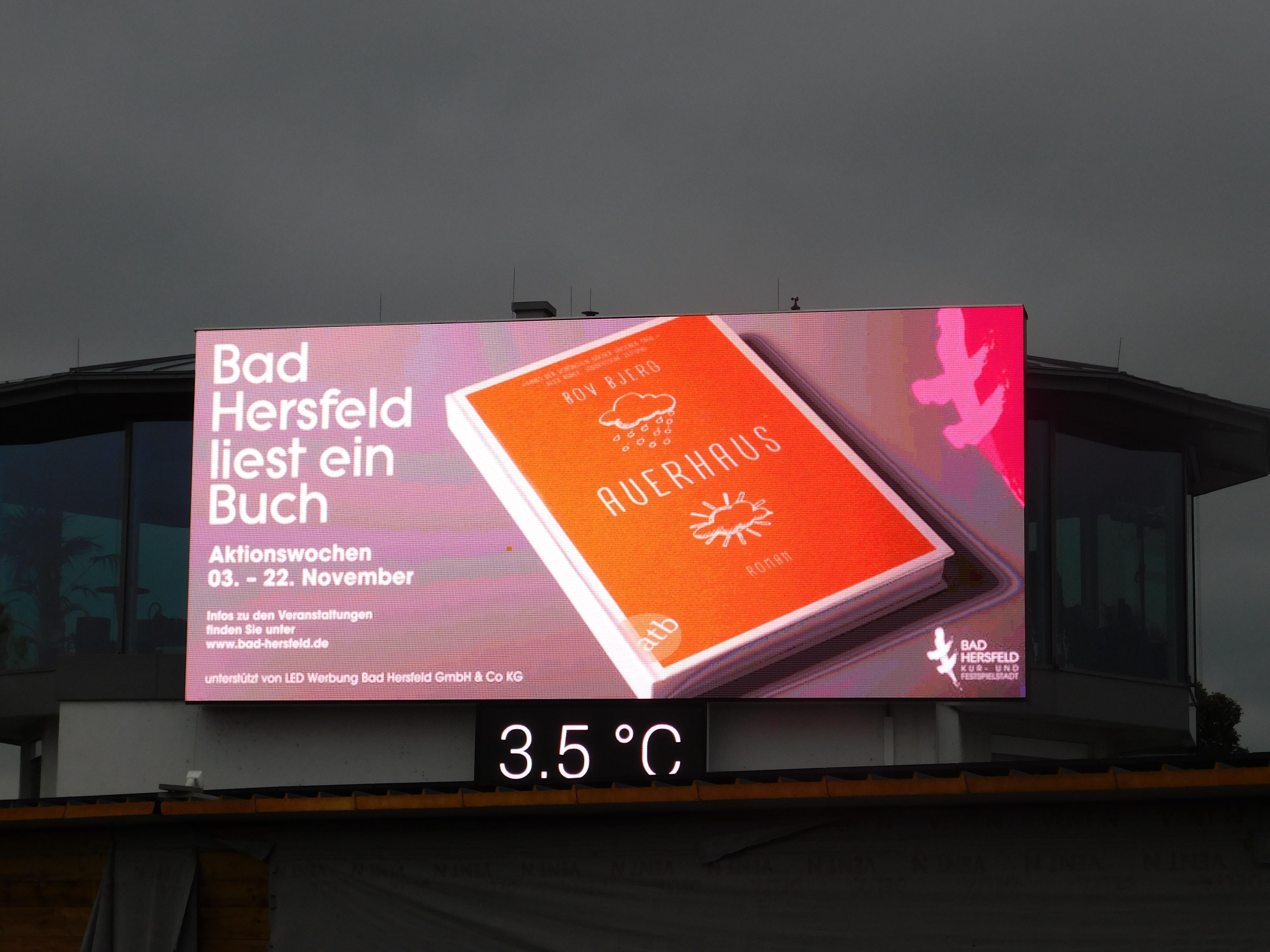 LED Werbewand Bad Hersfeld Geschäftsführung Robert Krumme