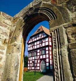 Über 200, teils aufwändig sanierte Fachwerkhäuser, sind in Bad Hersfeld zu finden.
